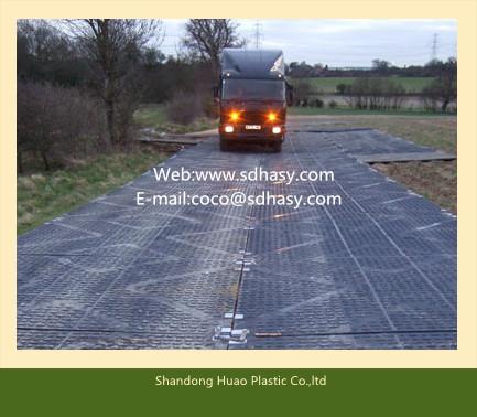 High quality Huao hot sell polyethylene construction road mats