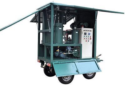 Mobile Trailer Transformer Oil Filtration System