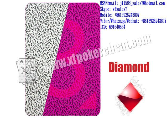 XF B.P.GRIMAUD PARIS 540 Plastic Playing Cards Marked With Invisible Ink Markings For Uv Invisible Contact Lenses And For Poker Predictors