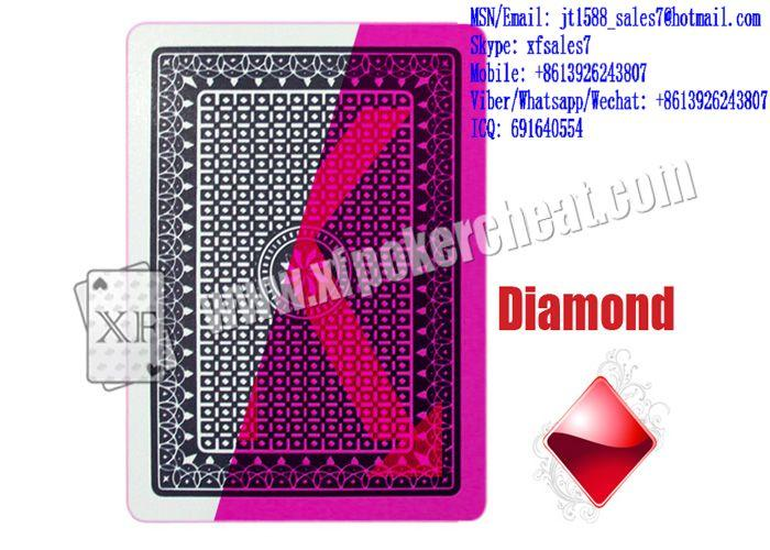 XF Best Visible Playing Cards TRIFID With Invisible Markings For UV Contact Lenses And Poker Analyzers
