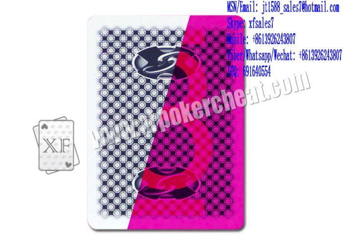 XF GEMACO Plastic Playing Cards With Invisible Ink For Poker Analyzer And UV Contact Lenses