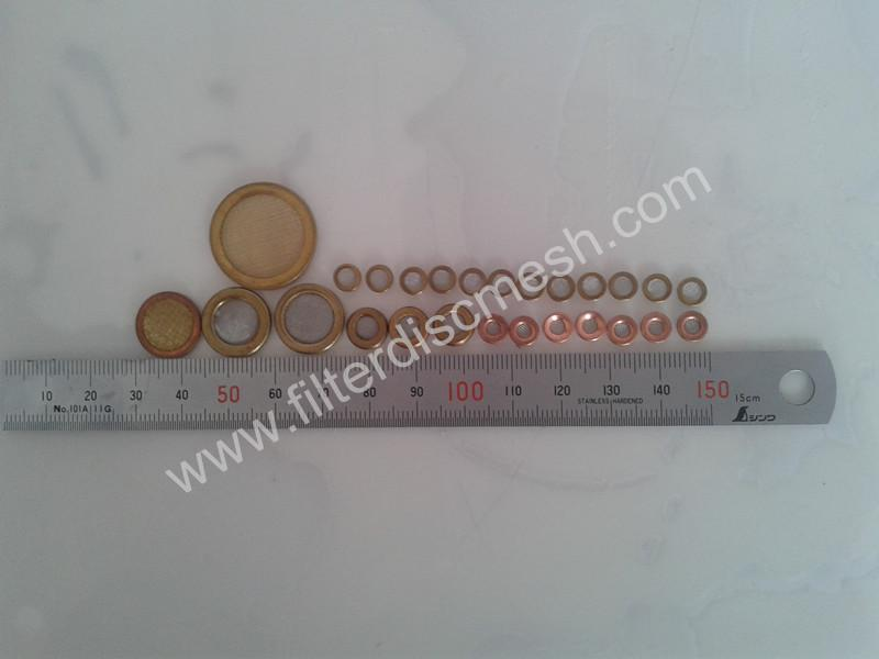 stainless steel disc mesh filter