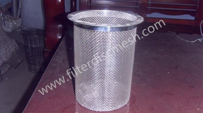 Filter cylinder mesh
