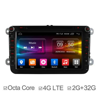 8Inch Octa Core Car GPS Navigation System for Polo Passat