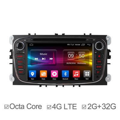 7Inch Octa Core Android 6.0 In Dash Car DVD for Ford Focus
