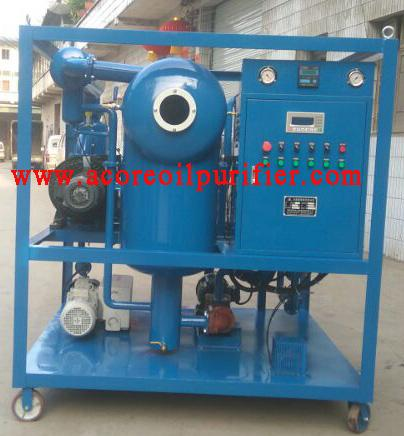 Vacuum Transformer Oil Filtration Machine Factory