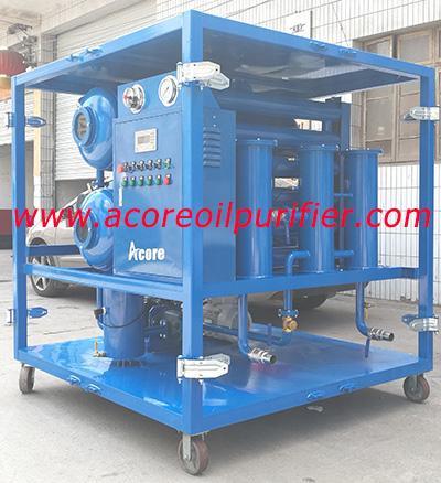 DVTP Waste Transformer Oil Filtering Equipment