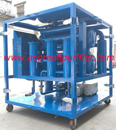 100L/Min Transformer Oil Purifying Treatment System