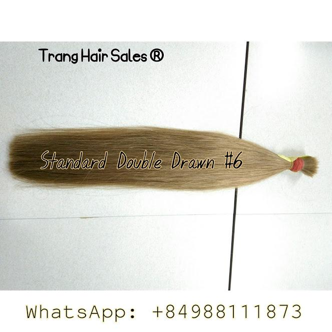 Standard Double Drawn Remy Hair Wholesale Price Premium Quality Top Gold Supplier