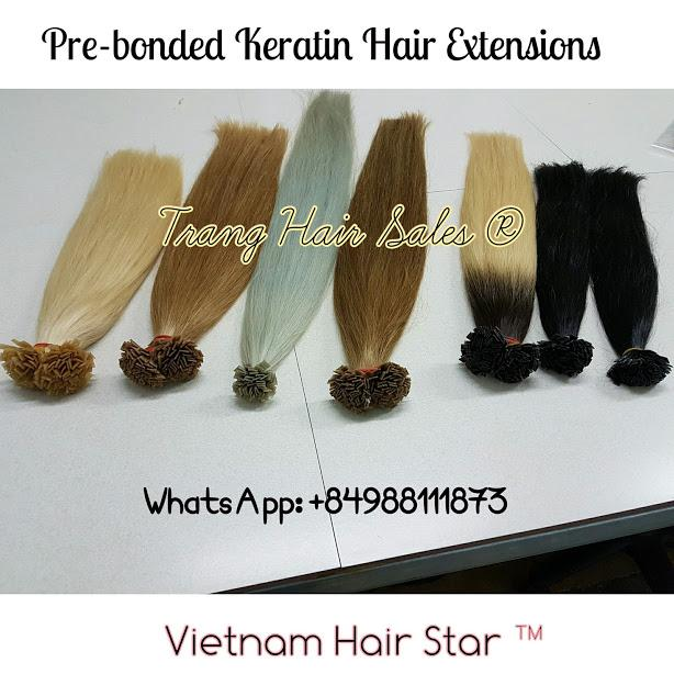 Pre-Bonded Keratin Tip Hair Extensions Wholesale Price Premium Quality