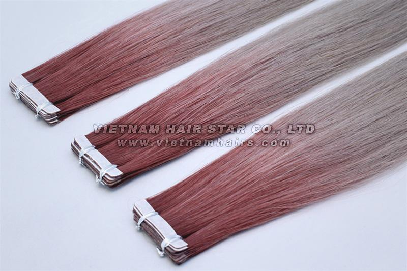 Pu Tape-In Hair Extensions Wholesale Price Best Selling Top Supplier