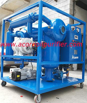 Vacuum Transformer Oil Filtration and Drying Equipment