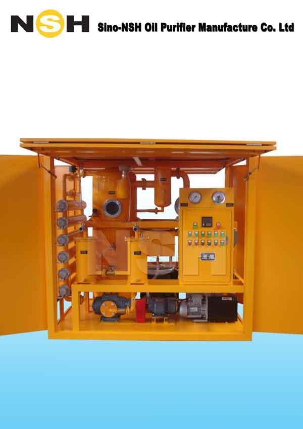 Vacuum Transformer Oil Regeneration Purifier