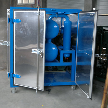 Trailer Type Transformer Oil Filtration Machine