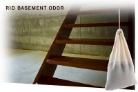 SMELLEZE Reusable Basement Odor Removal Deodorizer: Eliminates Smell Without Fragrances in 200 Sq. Ft.