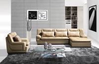 Modern leather living room sofa set furniture