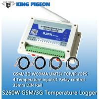 GPRS/3G UMTS/GPS/SMS Temperature Logger