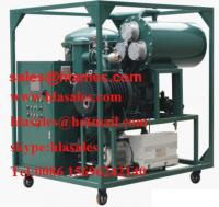 High Vacuum Lube Oil Purifier