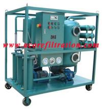 VLF Vacuum Lubricating Oil Purifier Machine