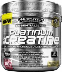 Platinum 100% Creatine, 400 Grams Unflavored 400 GRAMS