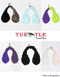 Newest Hot Turtle Towel Bra From Bangladesh Only 7 Days Shipping Towel Boobs sweat Bra Shape Breast Summer Towels