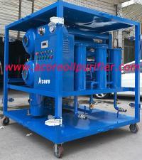 6000L/hr Vacuum Transformer Oil Purifier Principle