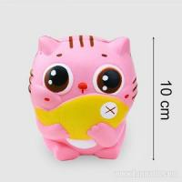 Pink Squishies Animal Cat