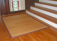 Traditional Bamboo Area Rug