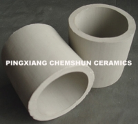 ceramic (alumina )raschig rings