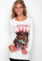 ED Hardy women long sleeve tshirts