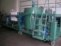 Waste Black Engine Oil Recycling Machine